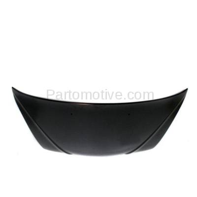 Aftermarket Replacement - HDD-1430 2002-2004 Kia Spectra (GS, GSX) Hatchback 5-Door (1.8 Liter Engine) Front Hood Panel Assembly Primed Steel - Image 3