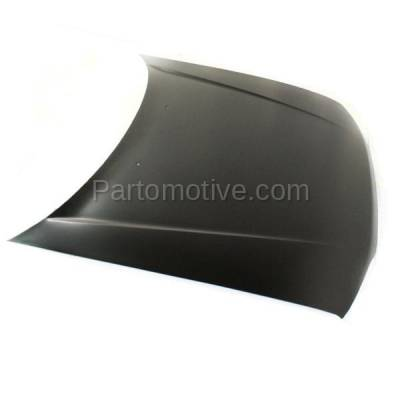 Aftermarket Replacement - HDD-1328 1990 1991 1992 1993 Honda Accord (DX, EX, LX, SE) 2.2 Liter Engine (Coupe, Sedan, Wagon) Front Hood Panel Assembly Primed Steel - Image 2