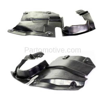 Aftermarket Replacement - ESS-1423L & ESS-1423R 09-13 Mazda6 Front Engine Splash Shield Under Cover Undercar Left Right SET PAIR - Image 1