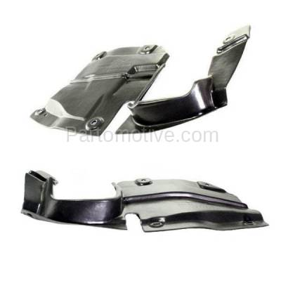 Aftermarket Replacement - ESS-1423L & ESS-1423R 09-13 Mazda6 Front Engine Splash Shield Under Cover Undercar Left Right SET PAIR - Image 2