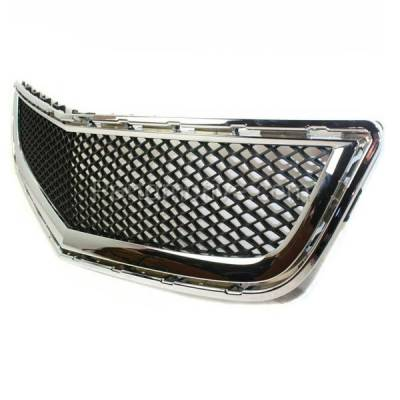 Aftermarket Replacement - GRL-1525C CAPA 09-12 Chevy Traverse Front Lower Bumper Grill Grille GM1036120 20756061 - Image 2