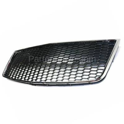 Aftermarket Replacement - GRL-1527C CAPA 09 10 11 Aveo5 Front Lower Bumper Grill Grille Black GM1036122 96813738 - Image 2