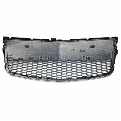 Aftermarket Replacement - GRL-1527C CAPA 09 10 11 Aveo5 Front Lower Bumper Grill Grille Black GM1036122 96813738 - Image 3
