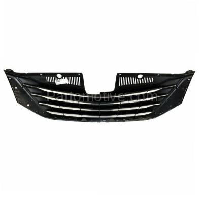 Aftermarket Replacement - GRL-2544C CAPA 11-14 Sienna Front Grill Grille Chrome Shell/Frame TO1200333 5310108090 - Image 3