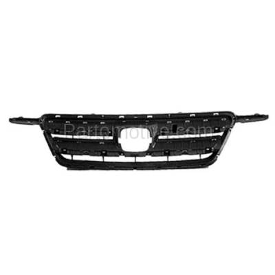 Aftermarket Replacement - GRL-1840C CAPA 05-06 CRV Front Face Bar Grill Grille Gray Shell HO1200177 71121S9A013 - Image 1