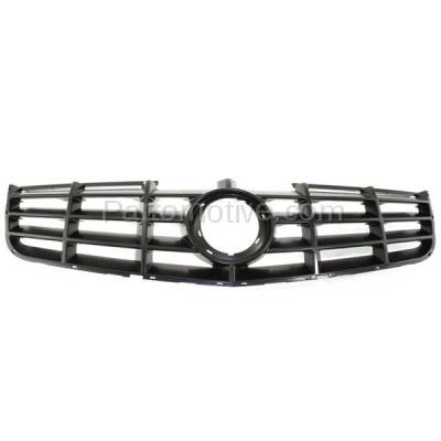 Aftermarket Replacement - GRL-1755C CAPA 06-11 DTS Front Grill Grille Adaptive Cruise Control GM1200617 19152602 - Image 1