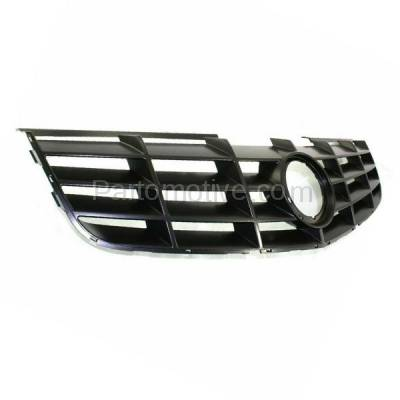 Aftermarket Replacement - GRL-1755C CAPA 06-11 DTS Front Grill Grille Adaptive Cruise Control GM1200617 19152602 - Image 2