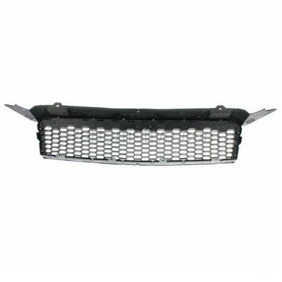 Aftermarket Replacement - GRL-1788C CAPA 09 10 11 Chevy Aveo5 Front Grill Grille Chrome Frame GM1200668 96808248 - Image 3