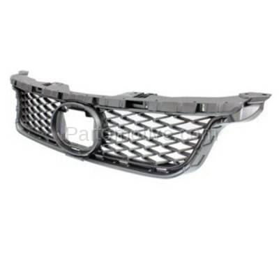 Aftermarket Replacement - GRL-2045C CAPA 11-13 CT-200h Front Grill Grille Gray Mesh Insert LX1200143 5311176030 - Image 2