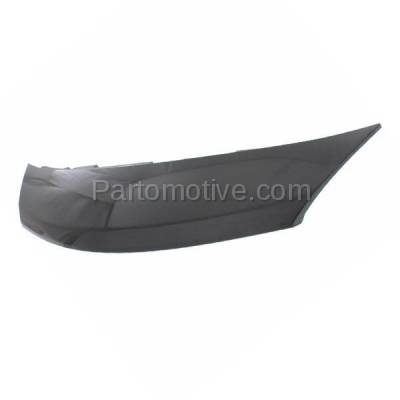 Aftermarket Replacement - GRL-2300C CAPA Front Upper Nose Panel Grill Grille Cover NI1201100 Fits 14-15 Versa - Image 2
