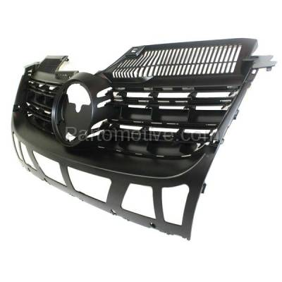 Aftermarket Replacement - GRL-2617C CAPA NEW 05-10 VW Jetta Front Face Bar Grill Grille VW1200139 1K5853653C9B9 - Image 2