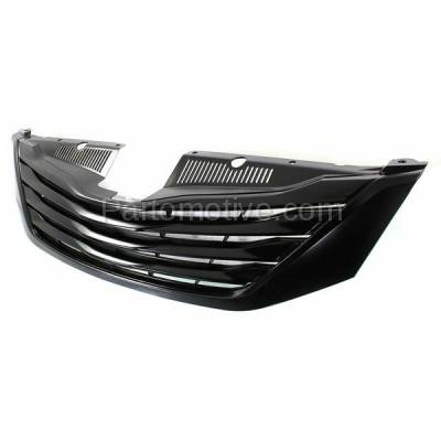 Aftermarket Replacement - GRL-2543C CAPA 11-15 Sienna Front Grill Grille w/o Cruise Control TO1200332 5310108070 - Image 2
