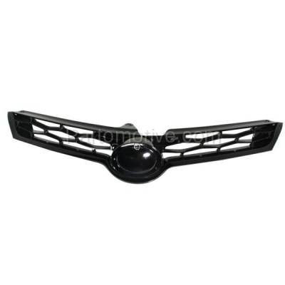 Aftermarket Replacement - GRL-2569C CAPA NEW 14-15 Corolla S Sedan Front Grill Grille Gray TO1200365 5310002570 - Image 1