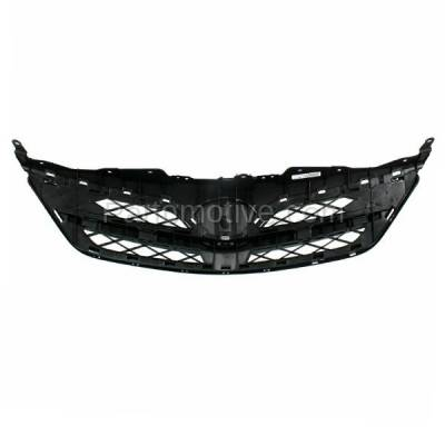 Aftermarket Replacement - GRL-2551C CAPA 11 12 13 Corolla Sedan Front Grill Grille Black TO1200340 5310002410C0 - Image 3