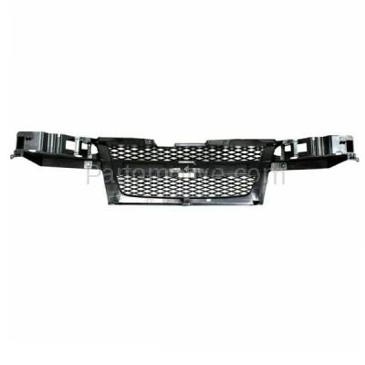 Aftermarket Replacement - GRL-1716C CAPA 04-12 Chevy Colorado Front Grill Grille Gray Shell GM1200560 12335790 - Image 3