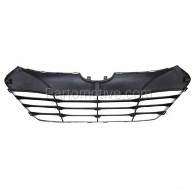 Aftermarket Replacement - GRL-1912C CAPA Front Face Bar Grill Grille Shell HY1200156 865612S000 For 10-15 Tucson - Image 3