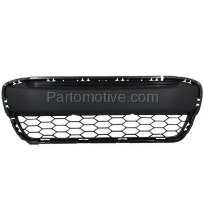 Aftermarket Replacement - GRL-1800C CAPA 12-14 Civic Coupe Front Lower Bumper Grill Grille HO1036111 71105TS8A01 - Image 1
