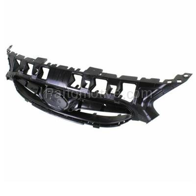 Aftermarket Replacement - GRL-1915C CAPA Front Face Bar Grill Grille Black HY1200161 863511R000 For 12-14 Accent - Image 2