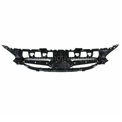 Aftermarket Replacement - GRL-1915C CAPA Front Face Bar Grill Grille Black HY1200161 863511R000 For 12-14 Accent - Image 3