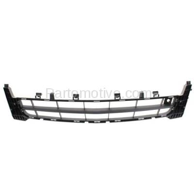 Aftermarket Replacement - GRL-1548C CAPA 11 12 13 Regal Front Lower Bumper Grill Grille Black GM1036144 13268731 - Image 1