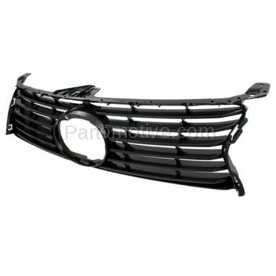 Aftermarket Replacement - GRL-2043C CAPA 13-15 GS-350/450h Front Grill Grille w/o F-Sport LX1200141 5311130D90 - Image 2