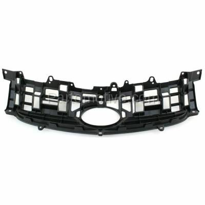 Aftermarket Replacement - GRL-2530C CAPA NEW 10-11 Prius Front Face Bar Grill Grille Black TO1200318 5311147020 - Image 3