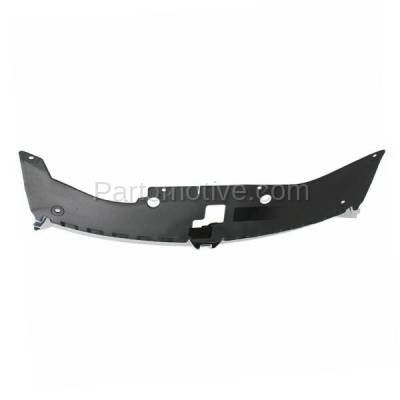 Aftermarket Replacement - GRL-1333C CAPA 11-14 Avenger Front Grill Grille Chrome Molding w/Gray Insert CH1200348 - Image 3