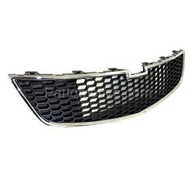 Aftermarket Replacement - GRL-1762C CAPA 11-14 Chevy Cruze Front Lower Face Bar Grill Grille GM1200624 95225615 - Image 2