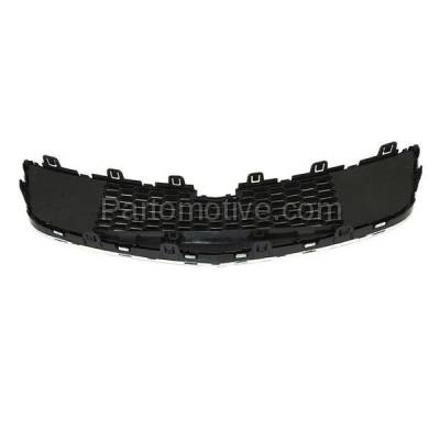 Aftermarket Replacement - GRL-1762C CAPA 11-14 Chevy Cruze Front Lower Face Bar Grill Grille GM1200624 95225615 - Image 3