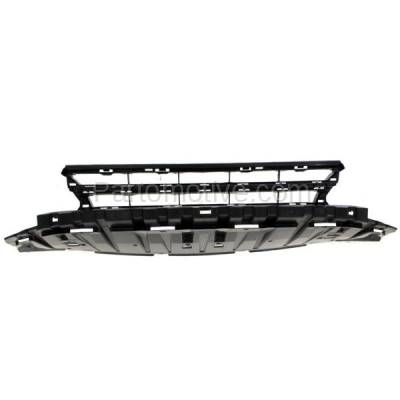 Aftermarket Replacement - GRL-1801C CAPA 13-15 Civic Sedan Front Lower Bumper Grill Grille HO1036113 71105TR3A51 - Image 1
