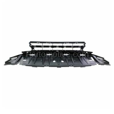 Aftermarket Replacement - GRL-1801C CAPA 13-15 Civic Sedan Front Lower Bumper Grill Grille HO1036113 71105TR3A51 - Image 3