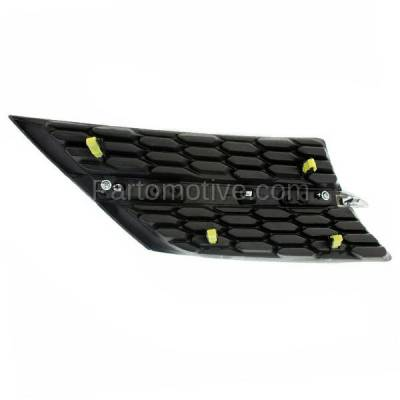Aftermarket Replacement - GRL-1099LC CAPA NEW 13-15 RAV4 Front Grill Grille Driver Side TO1200360 531060R010 - Image 3