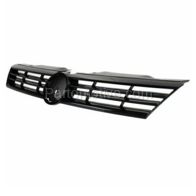 Aftermarket Replacement - GRL-2628C CAPA 11-14 VW Jetta Sedan Front Face Bar Grill Grille VW1200151 5C6853651QWA - Image 2