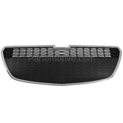 Aftermarket Replacement - GRL-1783C CAPA 13-15 Chevy Spark Lower Front Grill Grille w/o-Fog GM1200656 95078756 - Image 1