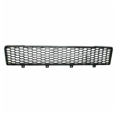 Aftermarket Replacement - GRL-1358C CAPA NEW 12-15 Fiat 500 Front Lower Bumper Grill Grille FI1036100 1RZ48KX7AA - Image 1