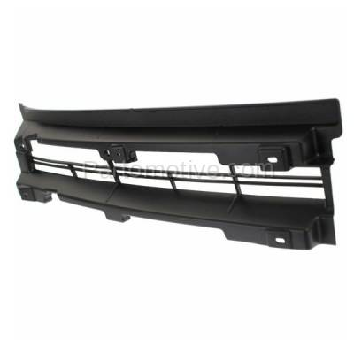 Aftermarket Replacement - GRL-1024LC CAPA 13-15 Accord 4-Door Sedan Front Grill Grille Insert Driver Side LH - Image 2