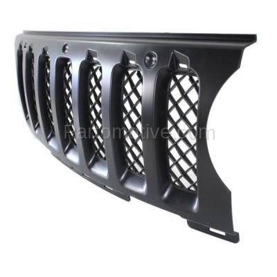 Aftermarket Replacement - GRL-1354C CAPA NEW 11-15 Patriot Front Grill Grille Insert Black CH1210110 68091527AA - Image 2