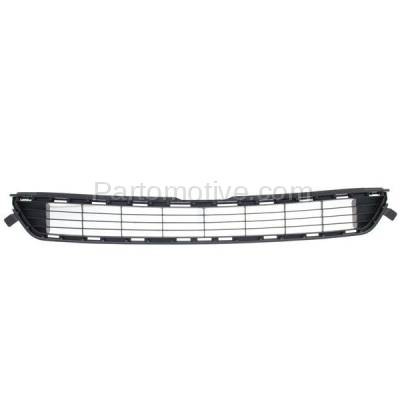 Aftermarket Replacement - GRL-2400C CAPA 13 14 15 RAV4 Front Lower Bumper Grill Grille Gray TO1036141 531120R030 - Image 1