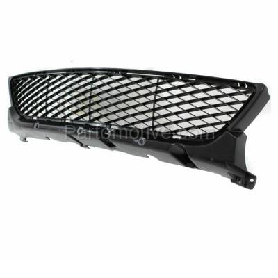 Aftermarket Replacement - GRL-2057C CAPA 04 05 06 Mazda3 Standard Lower Bumper Grill Grille MA1036102 BN8V501T1B - Image 2