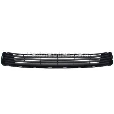Aftermarket Replacement - GRL-2390C CAPA 12-14 Camry Front Lower Bumper Grill Grille Black TO1036128 5311206200 - Image 1