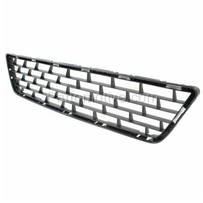 Aftermarket Replacement - GRL-2216C CAPA Front Lower Bumper Grill Grille NI1036101 622543SH0A Fits 13-15 Sentra - Image 2