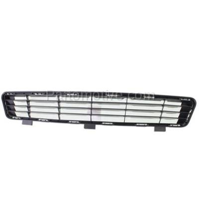 Aftermarket Replacement - GRL-2381C CAPA 10-11 Camry Front Lower Bumper Grill Grille Black TO1036118 5311206090 - Image 1