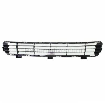 Aftermarket Replacement - GRL-2381C CAPA 10-11 Camry Front Lower Bumper Grill Grille Black TO1036118 5311206090 - Image 3