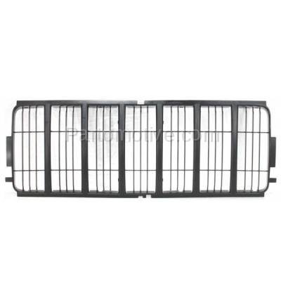 Aftermarket Replacement - GRL-1275C CAPA 02 03 04 Liberty Front Center Grill Grille Insert CH1200243 55156609AB - Image 1