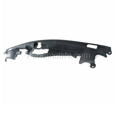 Aftermarket Replacement - GRL-1356C CAPA NEW 11-15 Patriot Radiator Support Cover Grill Grille Filler 68091530AA - Image 2