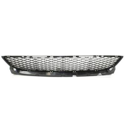Aftermarket Replacement - GRL-2060C CAPA 07-09 Mazda3 Front Lower Bumper Grill Grille Black MA1036105 BR5H501T0 - Image 1