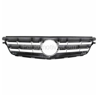 Aftermarket Replacement - GRL-2170C CAPA 08-14 C-Class Sport Package Front Grill Grille MB1200148 20488000239744 - Image 3