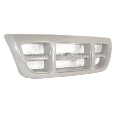 Aftermarket Replacement - GRL-1425C CAPA 98-00 Ranger Pickup Truck Front Grill Grille Gray FO1200343 F87Z8200JA - Image 2