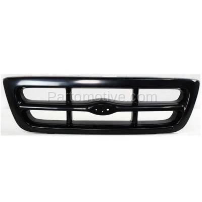 Aftermarket Replacement - GRL-1426C CAPA 98-00 Ranger Pickup Truck RWD Front Grill Grille FO1200344 F87Z8200FA - Image 1