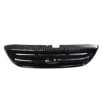 Aftermarket Replacement - GRL-1426C CAPA 98-00 Ranger Pickup Truck RWD Front Grill Grille FO1200344 F87Z8200FA - Image 3